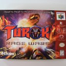 Nintendo 64 N64 Turok Rage Wars Game New in Box