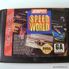 Sega Genesis Game ESPN Speed World Cartridge Only
