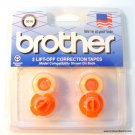 Brother BR 3010 Lift Off Correction Tape 2pk All TW/WP Models except EP MODE
