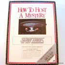 Star Trek How to Host a Mystery 1992 NIB