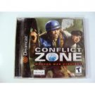 Sega Dreamcast Conflict Zone Modern War Strategy Complete