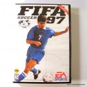 Sega Genesis Game FIFA Soccer 97 with Case