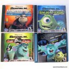 Disney Monsters Inc PC Game 4 pack Monster Tag Bowling 4 Screams 8 Ball Chaos