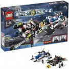 LEGO 5973 Space Police Hyperspeed Pursuit  New