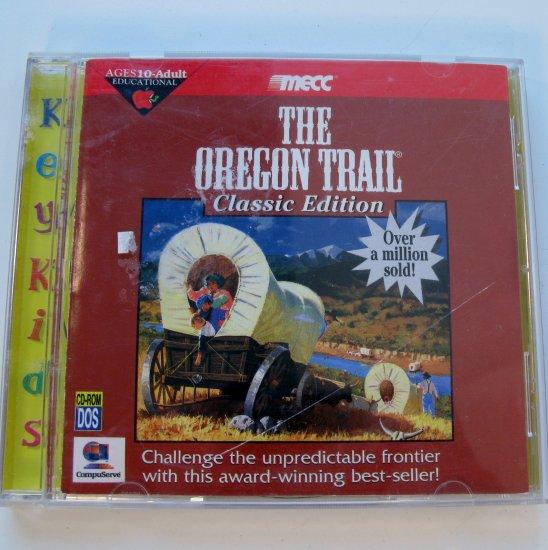 Original Oregon Trail PC by MECC 1996 Reprint by Softkey