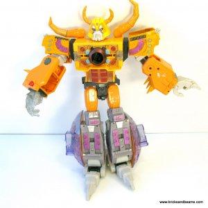 Hasbro Transformers Armada UNICRON 15 inch planet Figure Incomplete