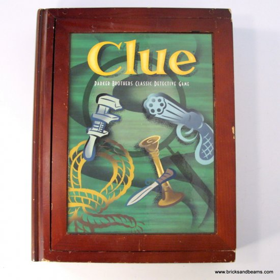 parker brothers clue instructions