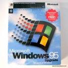Microsoft Windows 95 Retail Upgrade for  Windows Sealed with Box 3.5 Disk Internet Explorer 3.5