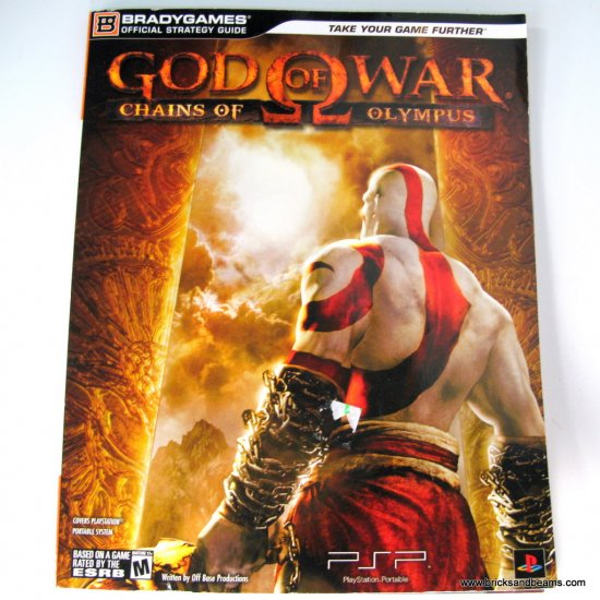 Gods And Warriors Books In Order: Gods Of War Chains Of Olympus PSP Official Strategy Guide