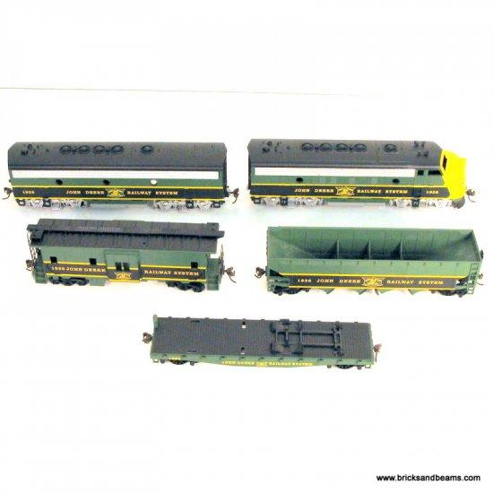 HO John Deere 1998 75 Anniv Train Set 5 Cars Model RR Train 1936