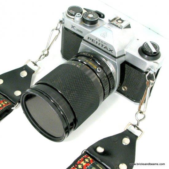 Asahi Pentax K1000 SLR 35mm Camera w SMC 1:2 50mm lens