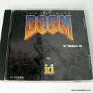ID Software Ultimate Doom PC Game Jewel Case Only