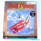 Sierra Red Baron II PC Game 1997 Box WWI Air War Game
