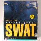 Sierra Daryl F. Gates' Police Quest SWAT PC Game with Box Manual