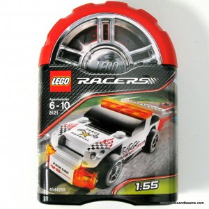 LEGO 8121 Racers Security Smash Brand New