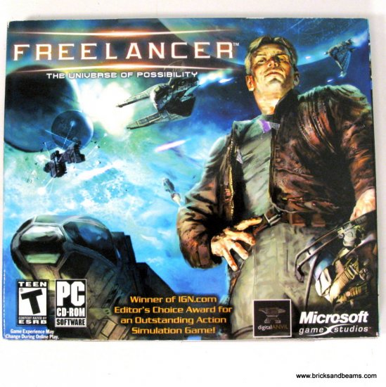 Microsoft Freelancer The Universe of Possiblitity PC Game New