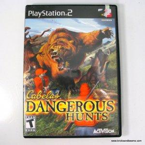 Playstation 2 Cabela's Dangerous Hunts PS2 Activision