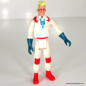 Egon Spengler (Fright Features) 1987 Real Ghostbusters Action Figure