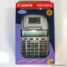 Canon P23-DH V 2-Color Printing Calculator with Cover