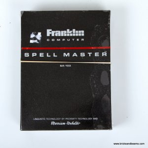Vintage Franklin Computer Spell Master SA-103 Spell Checker w Box Manual Case 1987