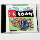 Maxis Sim Town w Jewel Case 1998 Like New