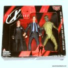 X-Files Action Figure 3 Pack Agent Fox Mulder Agent Dana Scully Attack Alien McFarlane Toys Sealed