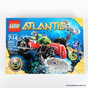 LEGO Set 8059 Atlantis Seabed Scavenger Sealed