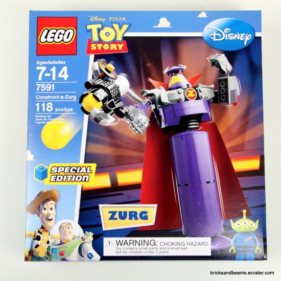 LEGO Set 7591 Toy Story Construct-a-Zurg  Special Edition Sealed