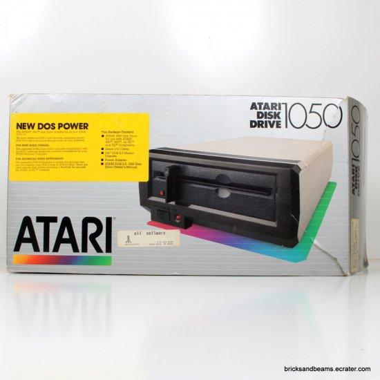 Vintage Genuine Atari Disk Drive 1050 w Box Disc Drive