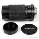 Tou/Five Star MC Macro Zoom F/4.5 80-200mm Lens for Pentax K-Mount
