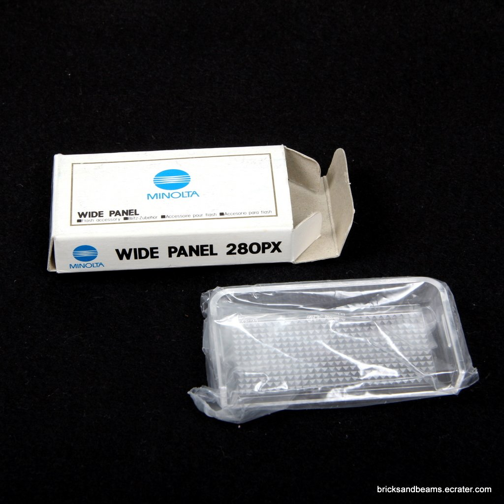 Minolta Wide Panel 280PX Flash Diffuser for 280PX/100710