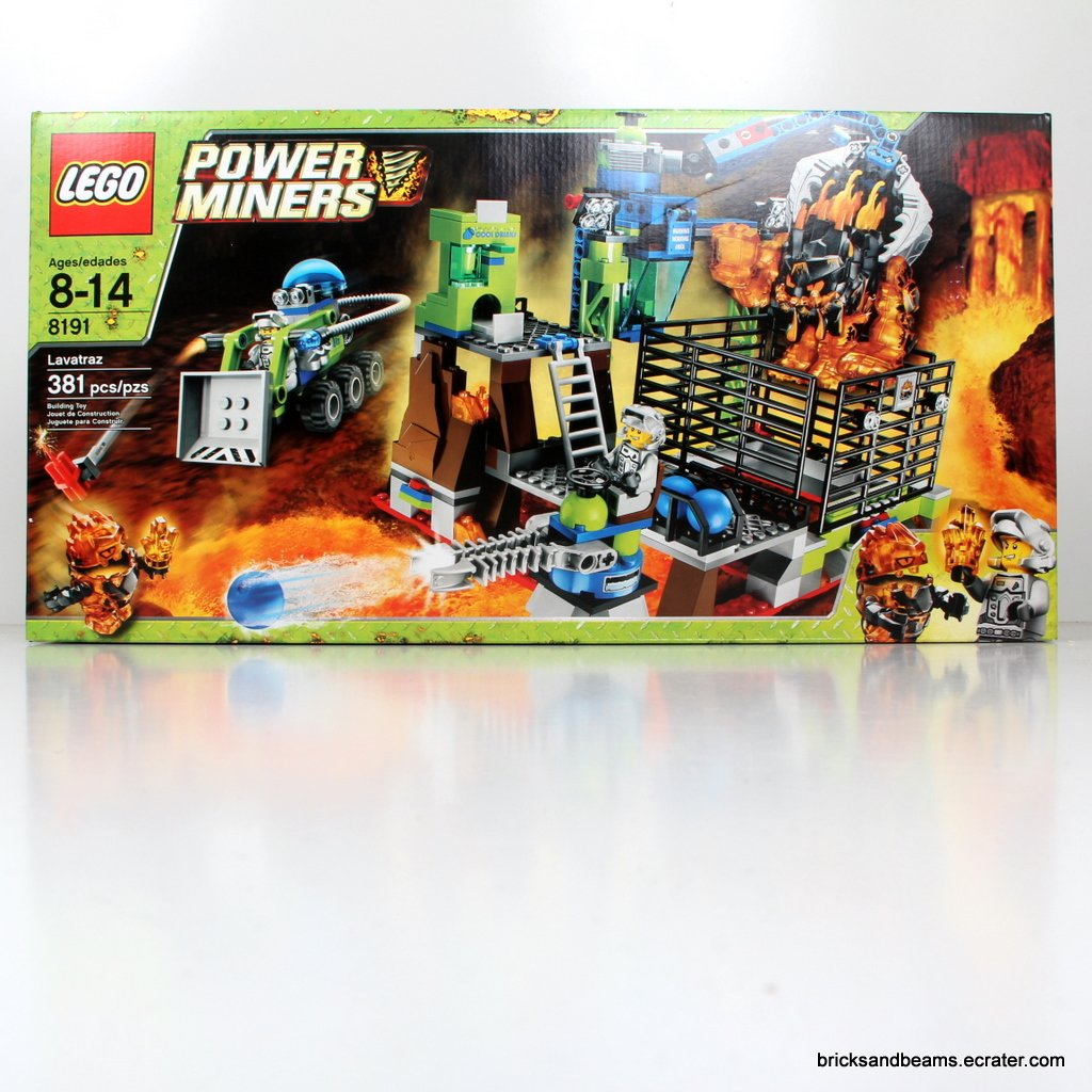 LEGO Set 8191 Power Miners Lavatraz Sealed PowerMiners