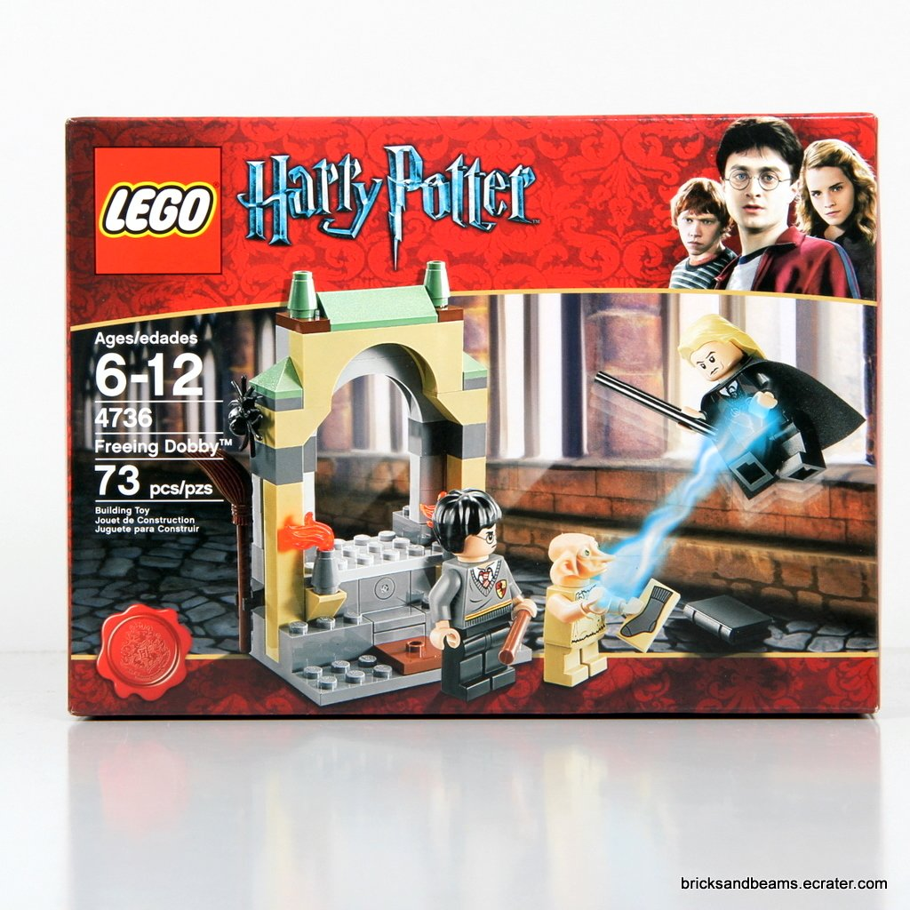 LEGO 4736 Harry Potter Freeing Dobby 2010
