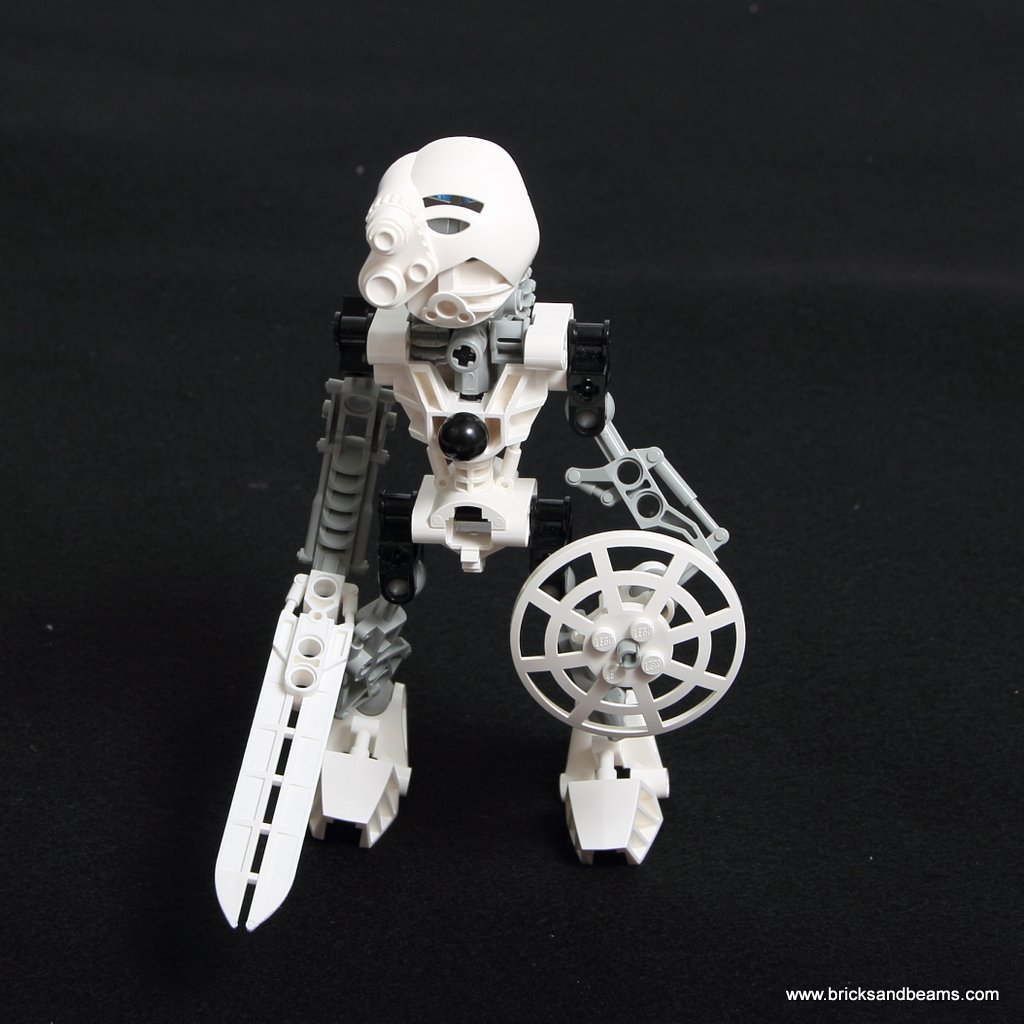 RETIRED  White TOA KOPAKA LEGO TECHNIC BIONICLE 8536 Rare Poster! 2001 B56
