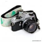 Pentax ME Super SLR Film Camera For Parts Repair with SMC 50mm 1:2 Lens