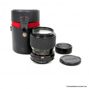 Sigma Canon FD Mount 35-70mm f 2.8 Zoom Lens w Hard Case