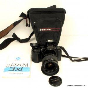 MINOLTA MAXXUM Dynax 3xi SLR Film Camera with AF ZOOM 28-80mm Minolta Lens Manual