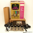 Atari Sears Pong Sports IV Game 4 Paddles with Box, Complete, Fun Tested!