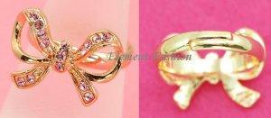 Ribbon Bling Ring #AR001
