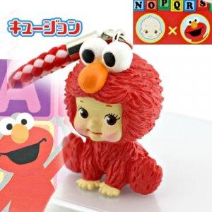 Kewpie x Elmo cell phone strap
