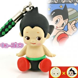 Kewpie x Astro Boy cell phone strap