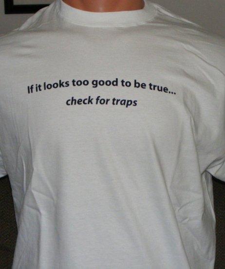 Checkin' for traps