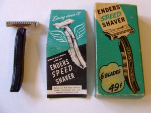 Enders Speed Shaver Razor w/Instructions & Box Free Shipping!!
