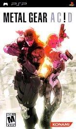 Metal Gear Acid Sony PSP Playstation Portable Free Shipping!!