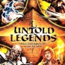 Untold Legends Sony PSP Game Playstation Portable Free Shipping!!