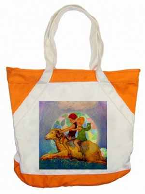 The Golden Fleece Accent Tote Bag - Brand New Item number: 310090392504