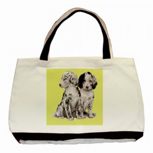 Loving Puppies Classic Lemon Tote Bag - Brand New! Free Delivery