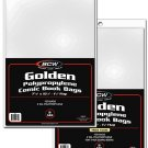 BCW 1000ct (Case) Golden Comic Bags