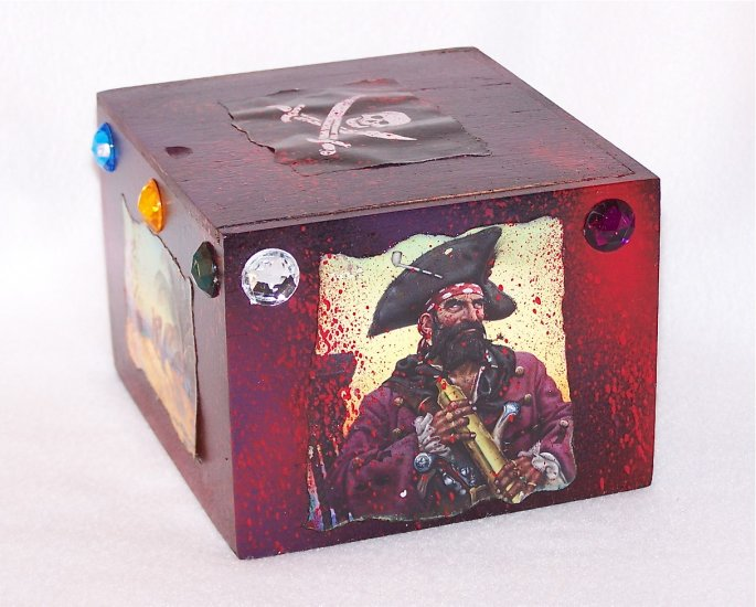 Pirate Stash Boxes