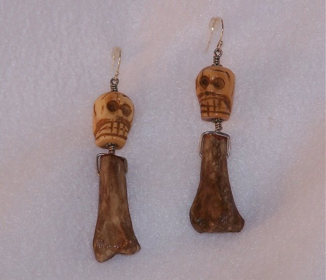 Skull & Bone Earrings